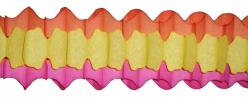Arch Garland Orange/Yellow/Cerise (12 pcs)
