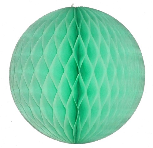 Mint Honeycomb Art Tissue Balls (12 pcs)