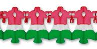 12 Foot Xmas Bell Garland (12 pcs)