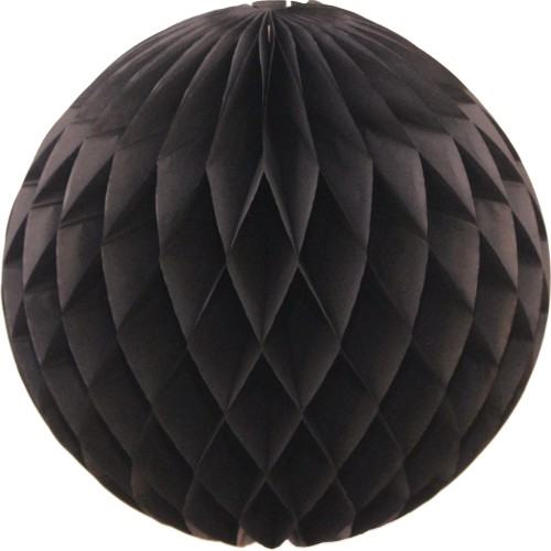 Black Tissue Paper Ball (12 pcs)