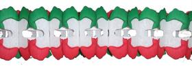 12 Foot Christmas X leaf Garland Decoration (12 pcs)