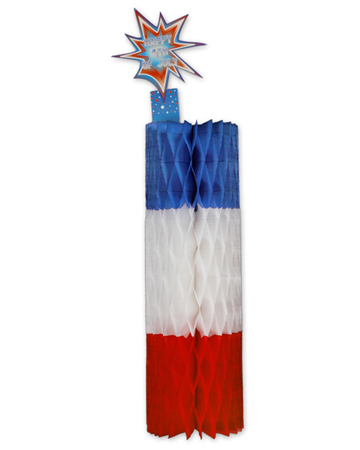 Hanging Paper Firecracker Decoration (12 pcs)