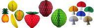 Honeycomb Fruit Decoration Kits