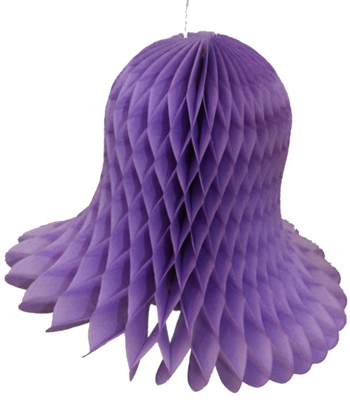 Lavender Honeycomb Bell (12 Pieces)