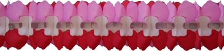 12 Foot Valentine Cross Garland Decoration (12 pcs)