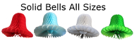 Solid Color Honeycomb Bells