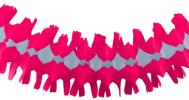 12 Foot Cerise Spider Fringe Garland (12 pcs)