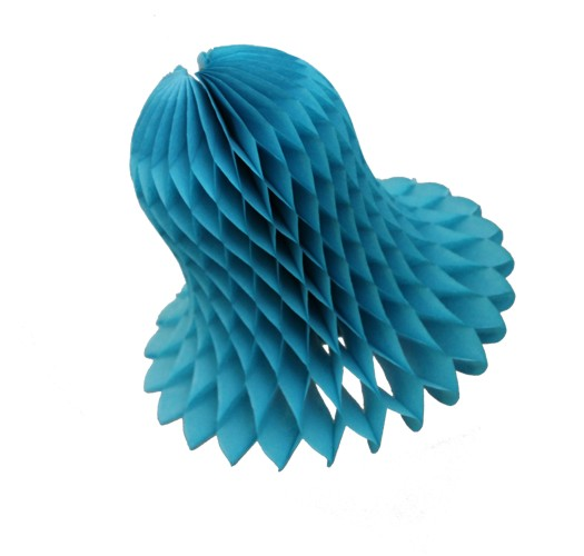 Turquoise Honeycomb Bell (12 Pieces)